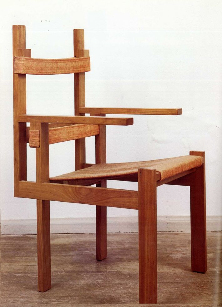 Slatted Chair Ti 1a